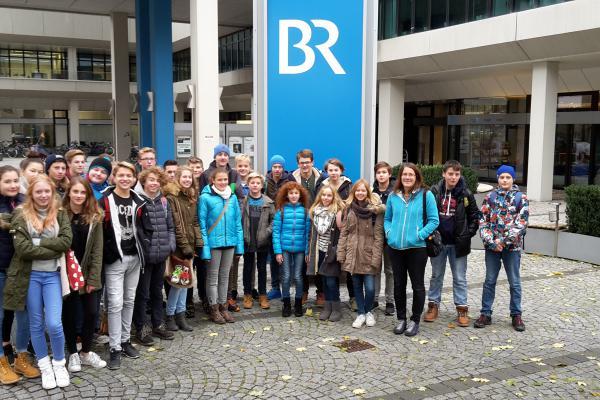 Besuch des Bayerischen Rundfunks