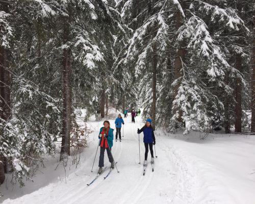 Wintersporttag für die 6. Klassen