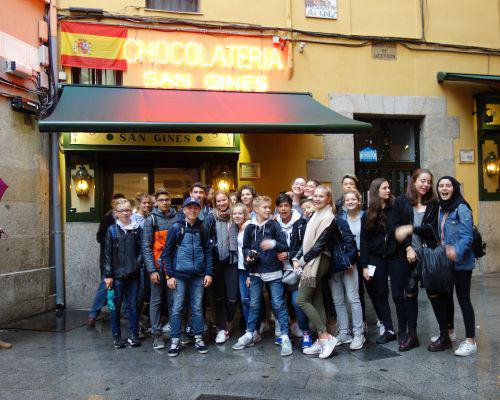 Schüleraustausch mit dem Instituto María Zambrano in Leganés, Madrid