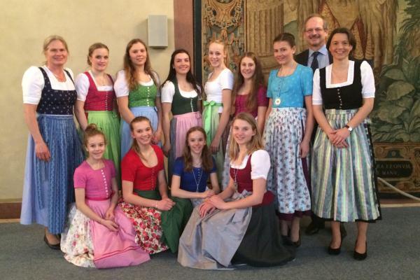 Schulsportehrung 2017 in der Münchner Residenz