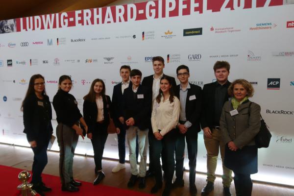 Besuch des Ludwig Erhard Gipfel 2019